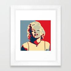 marylin Monroe affiche Framed Art Print