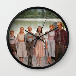 Jack Torrance in The Sound of Music Wall Clock