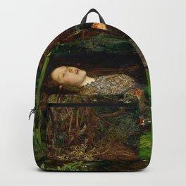 Ophelia - John Everett Millais Backpack