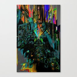 disordered Canvas Print