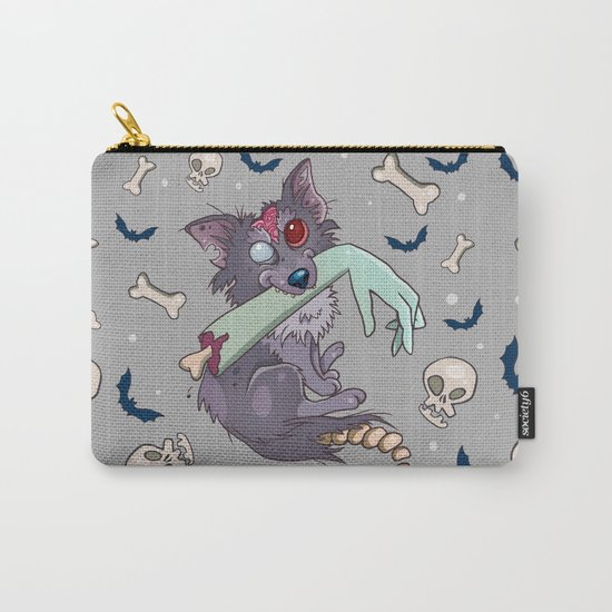 Rufus the zombie dog Carry-All Pouch