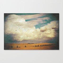 The Faraway Fields Canvas Print