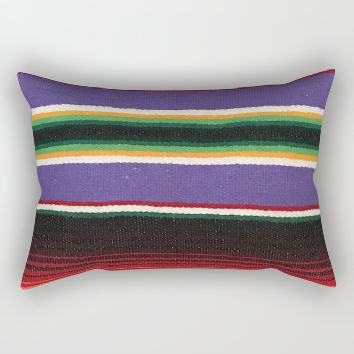 MEXICAN SERAPE Rectangular Pillow