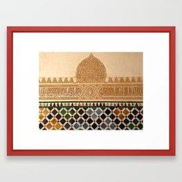 Alhambra Geometric Art Framed Art Print
