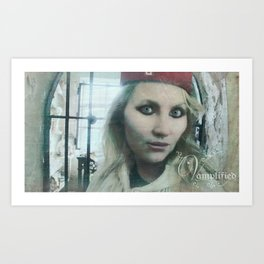 "VAMPLIFIED ""Asylum Nurse"" Art Print"