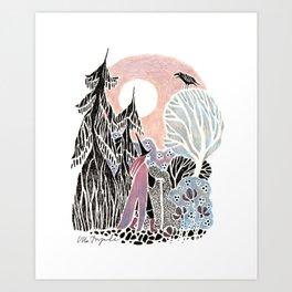 North Witch Art Print