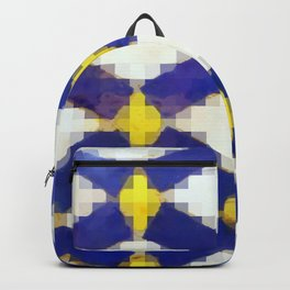 Sand & Aged Moroccan Mosaic Tiles Backpack
