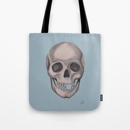 Mr. Smiles - Skull Portraiture Tote Bag
