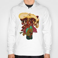 ganesh Hoodies featuring Ganesh by marekolani