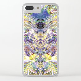 Transcendental Contemplation Clear iPhone Case