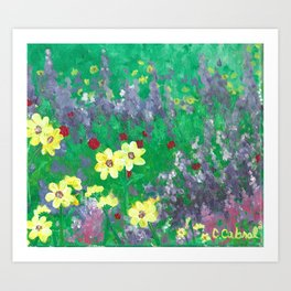 Wildflower-20 Art Print