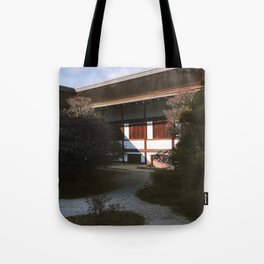 Kyoto Imperial Palace Shadows Tote Bag