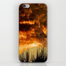 When Storm & Sunset Meet iPhone & iPod Skin