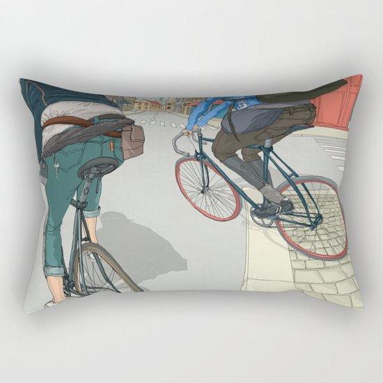 City traveller Rectangular Pillow