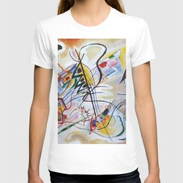 Violet Wedge, Abstract, Wassily Kandinsky, 1919 T-shirt