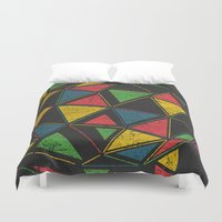 techno Duvet Covers featuring Techno by Sitchko Igor