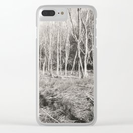 The Lonely Woods Clear iPhone Case