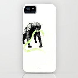 Honeybadger iPhone Case