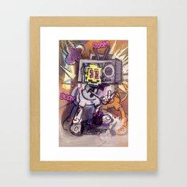 BOOMBOOMPOW Framed Art Print