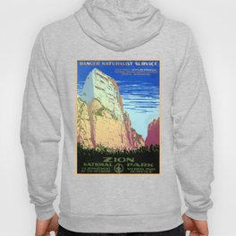 Vintage Zion National Park Travel Hoody