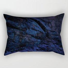 Enchanted Midnight Forest Wall Rectangular Pillow