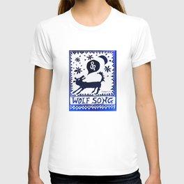 Wolf Song Rev Blue T-shirt
