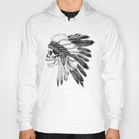 native Hoodies featuring Native American by Motohiro NEZU