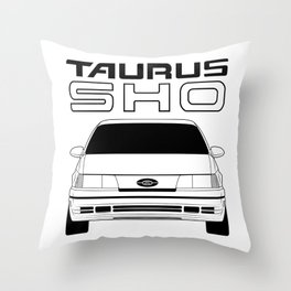 GEN1 SHO Inverted Monochrome Throw Pillow