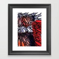 Forage Framed Art Print