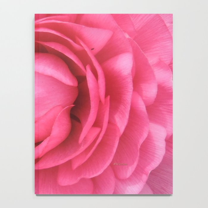 Petals in the Pink Notebook