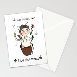 Yoongi Blooming Stationery Cards