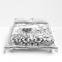 Garden Series Adult Coloring Comforters