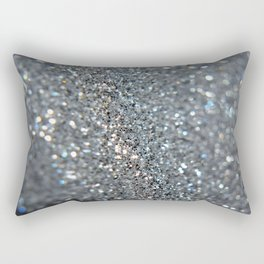 Silver Dust Rectangular Pillow