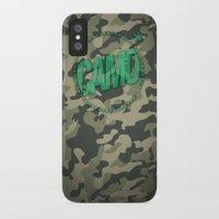 camo iPhone & iPod Cases featuring Camo by GabrieleCigna