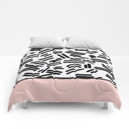 Patterned & Pink Comforters