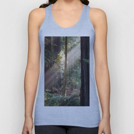 Hiding From The Dark Unisex Tank Top