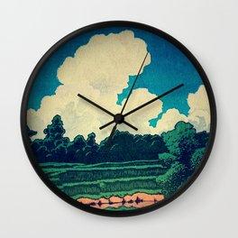 3 Days at Denka Wall Clock
