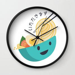 Yummy Ramen Wall Clock