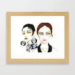 Make a statement Framed Art Print