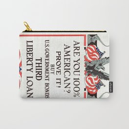 Are you 100% American Carry-All Pouch