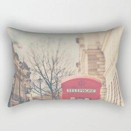 on a city street ...  Rectangular Pillow