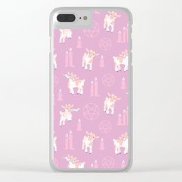 The Kids Are Alright - Pastel Pinks Clear iPhone Case