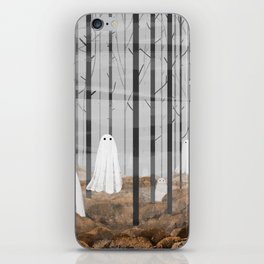 The Woods are full of Ghosts iPhone Skin