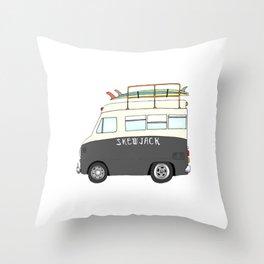 SJ Ambulance  Throw Pillow