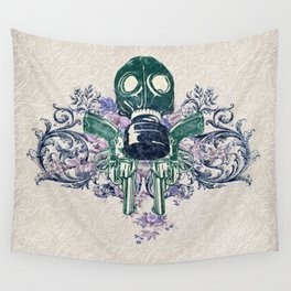 Post Apocalypse Punk Wall Tapestry