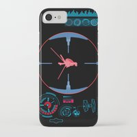 nasa iPhone & iPod Cases featuring Tie Fighter Meets NASA Voyager 1 by Ryan Huddle House of H