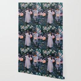 Carnation, Lily, Lily, Rose - John Singer Sargent Wallpaper