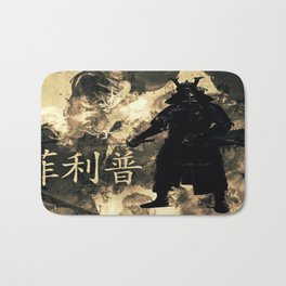 Honor of the Samurai Bath Mat