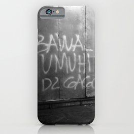 Bawal Umihi Dito (You Can't Pee In Here) iPhone Case