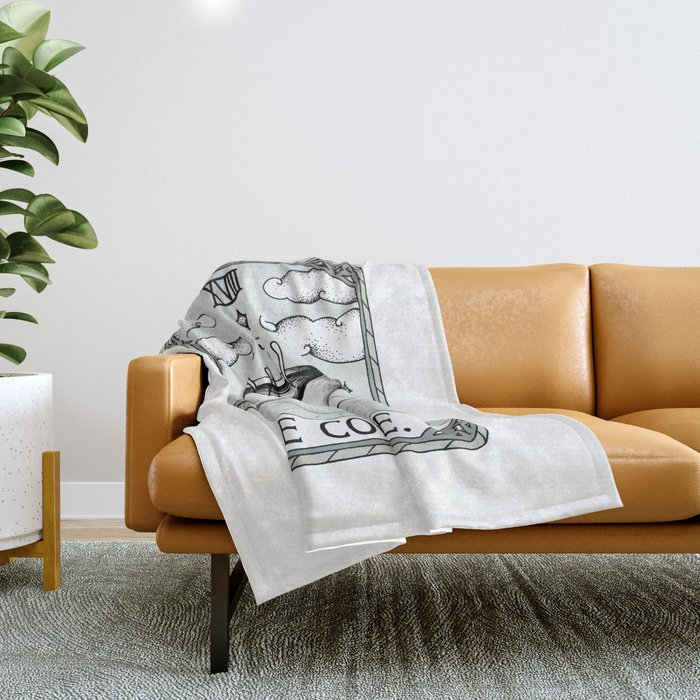 The Coffee Throw Blanket